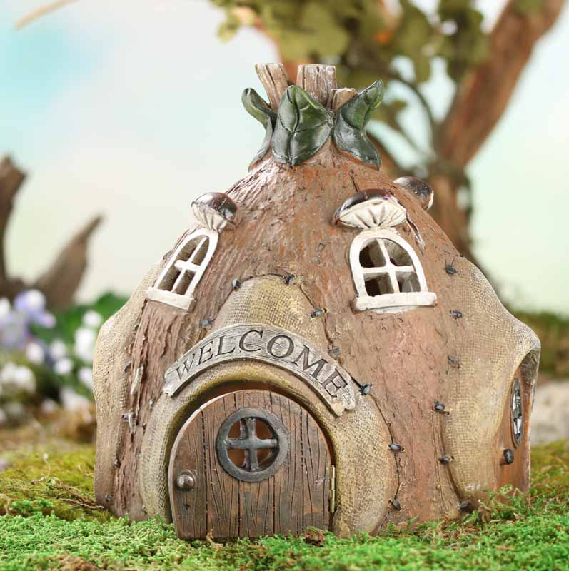 Miniature fairy garden hut on sale craft supplies for Garden hut sale