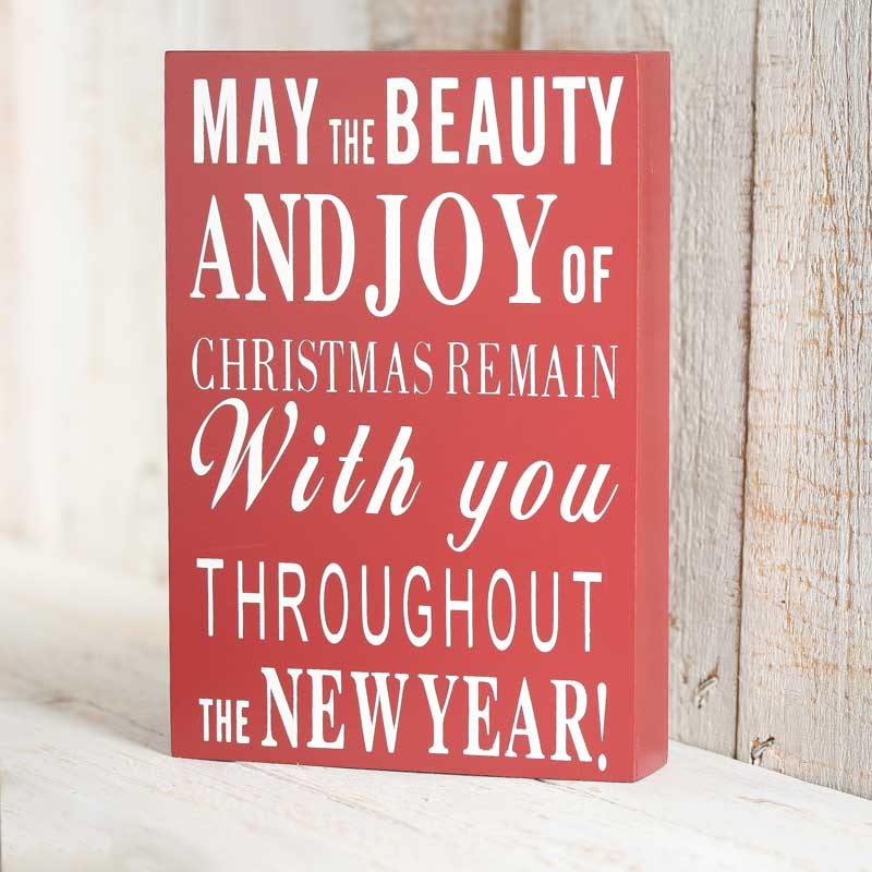May the Beauty and Joy...\