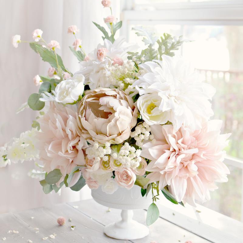 Artificial Baby S Breath Bush Bushes Bouquets Floral