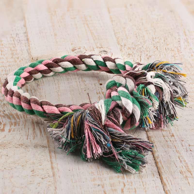 Duke's Tug Rope Ring Dog Toy
