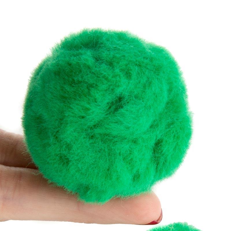 Green craft pom poms pom poms basic craft supplies for Pom pom crafts