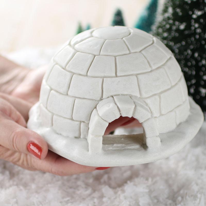 Miniature Igloo Fairy Garden Supplies Dollhouse