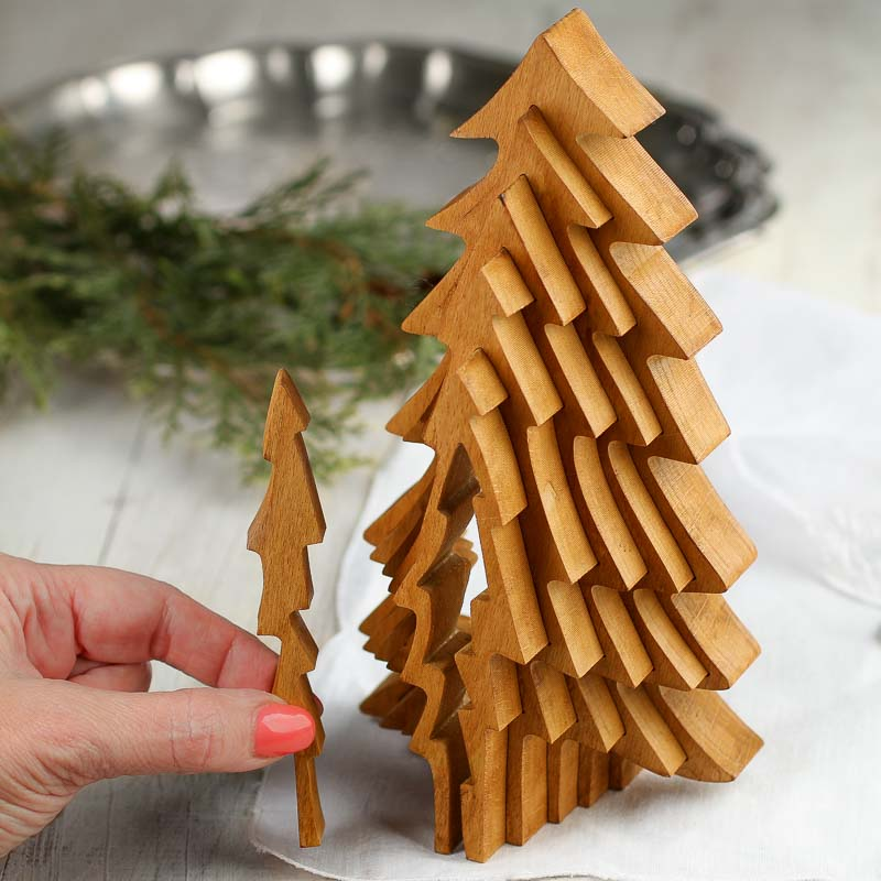 3d Christmas Tree Pattern: Incredible Collapsible 3D Wood Tree