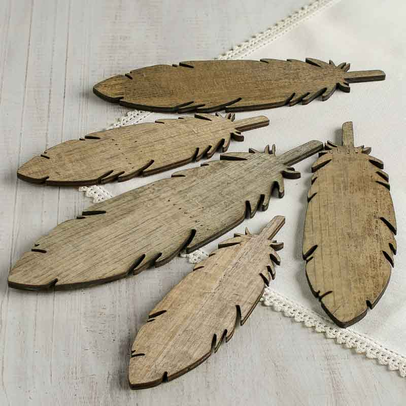 distressed wood feather cutouts wood cutouts wood crafts hobby