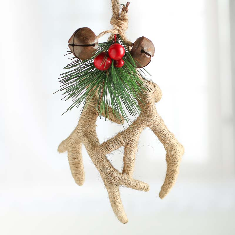 Antler Christmas Ornaments