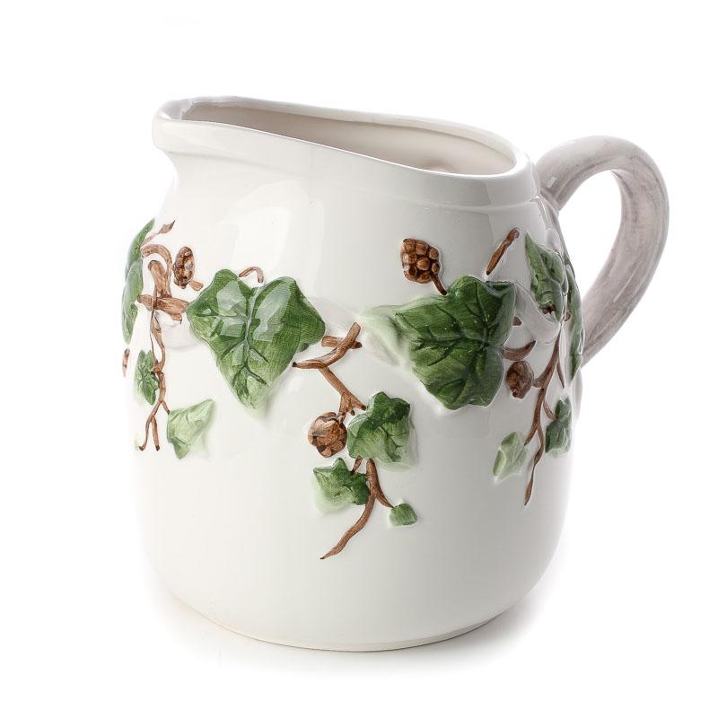 Acorn Kitchen And Bath: Vintage-Inspired Leaf And Acorn Ceramic Pitcher