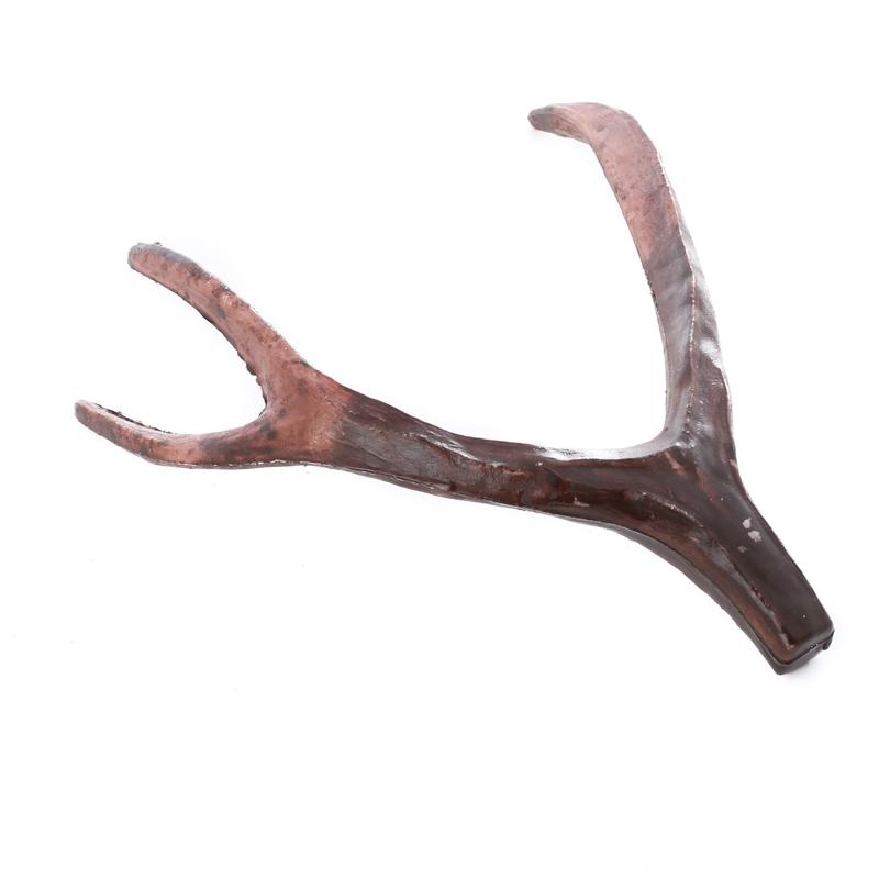 Artificial deer antler decorative accents primitive decor for Fake deer antlers for crafts