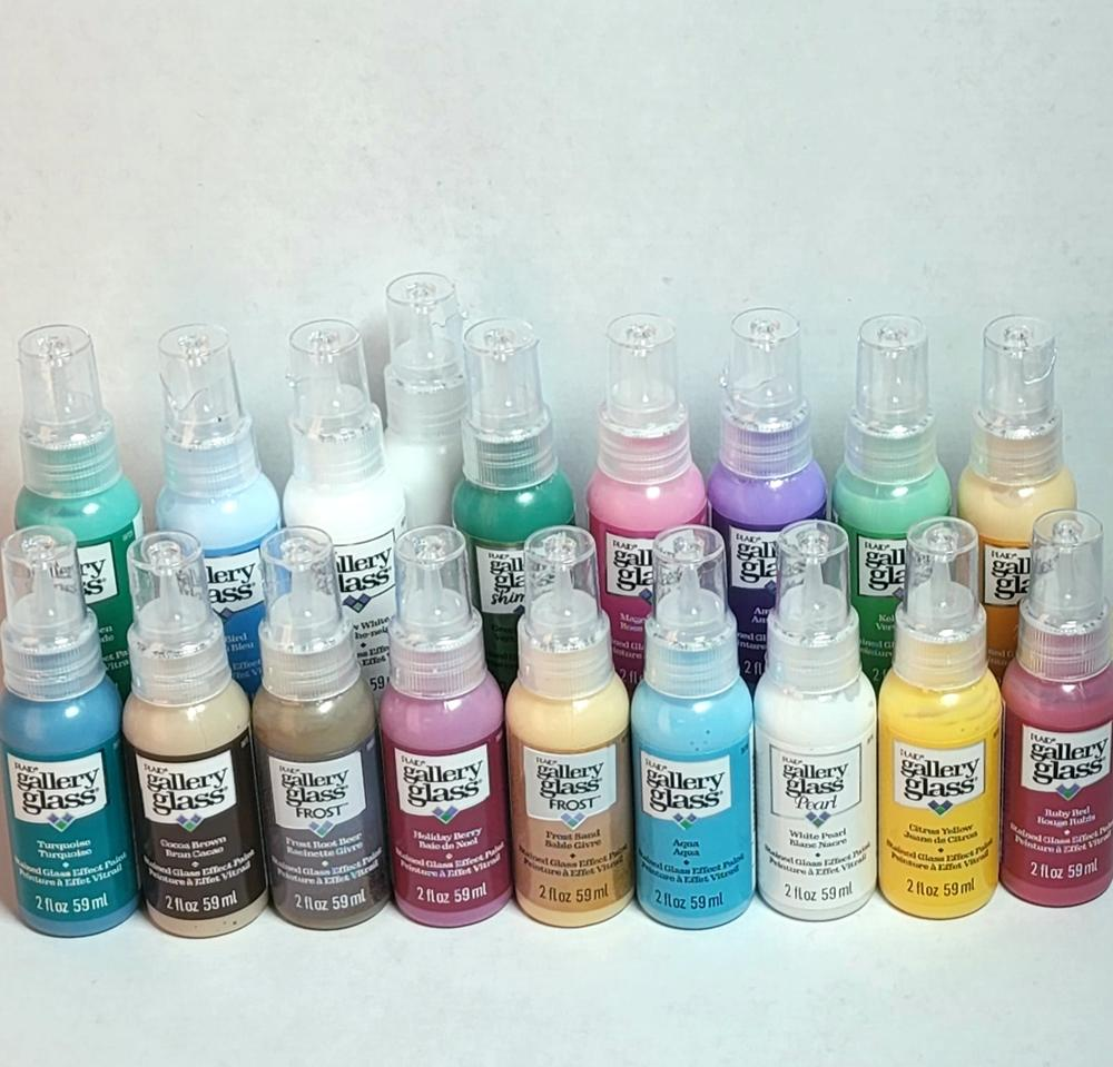Best sellers gallery glass window color paint set for Best paint supplies