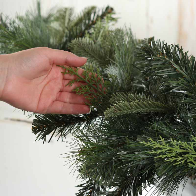 Artificial Mixed Pine Garland - Garlands