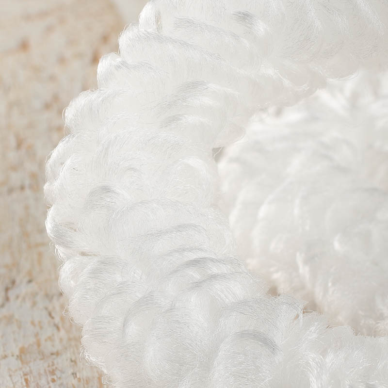 White Loopy Chenille Pipe Cleaners Chenille Stems