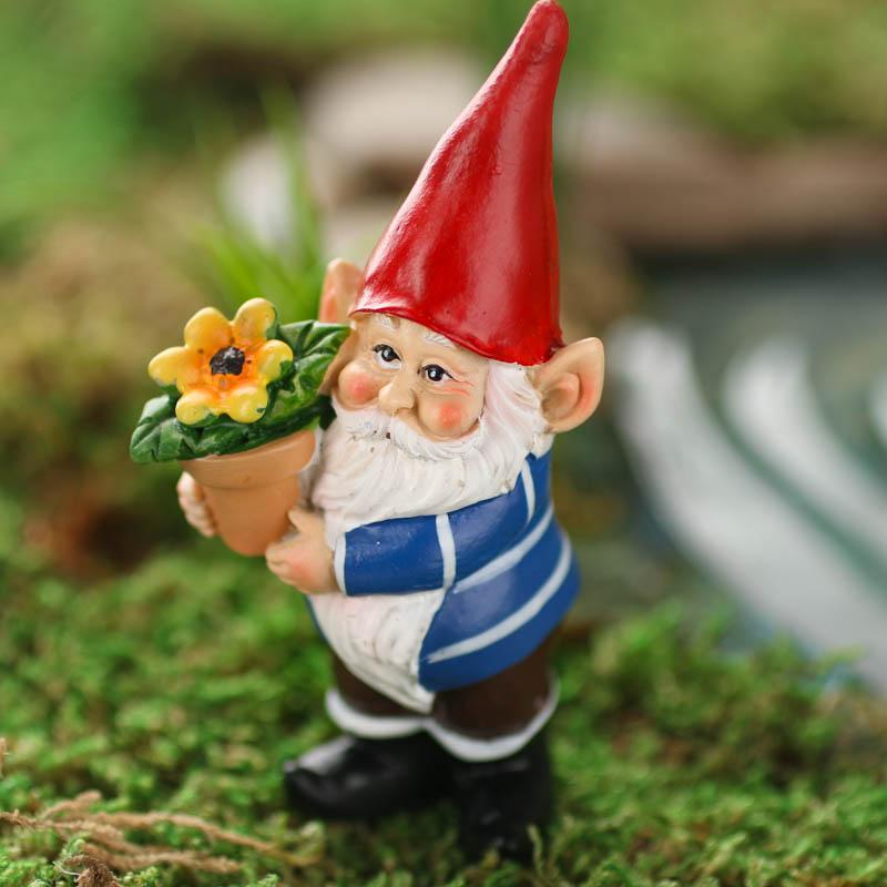 Miniature Working Garden Gnome Fairy Garden Miniatures