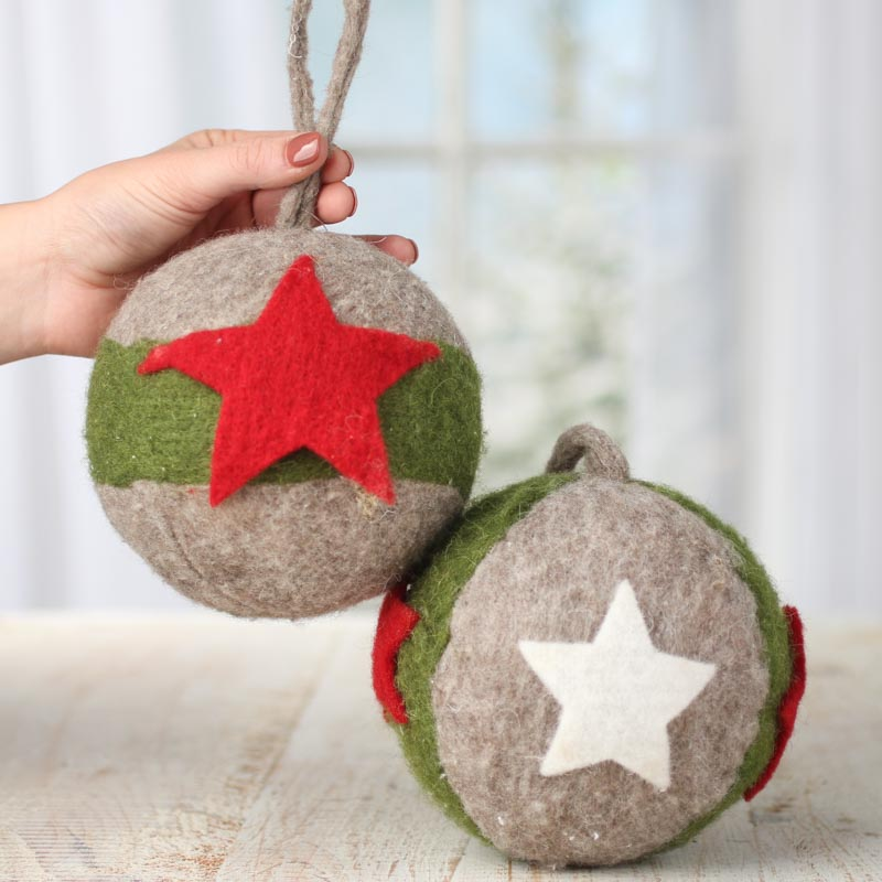 Western Christmas Ornaments