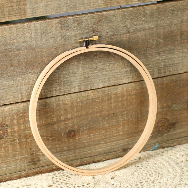 Wood embroidery ring hoop kids craft kits kids crafts for Wooden rings for crafts