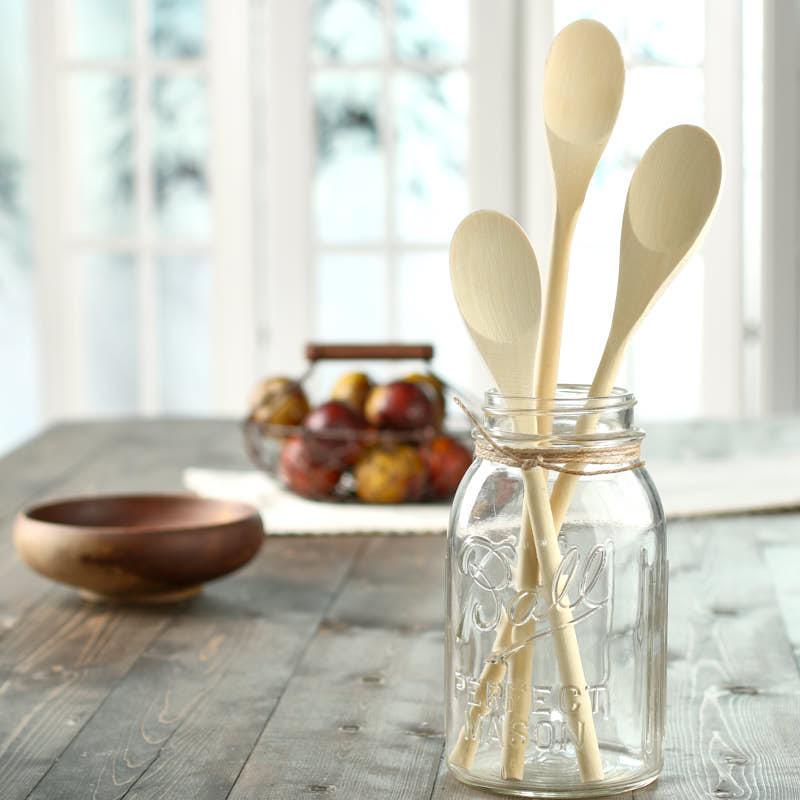 Wooden Kitchen Mixing Spoons Kitchen Utensils Kitchen