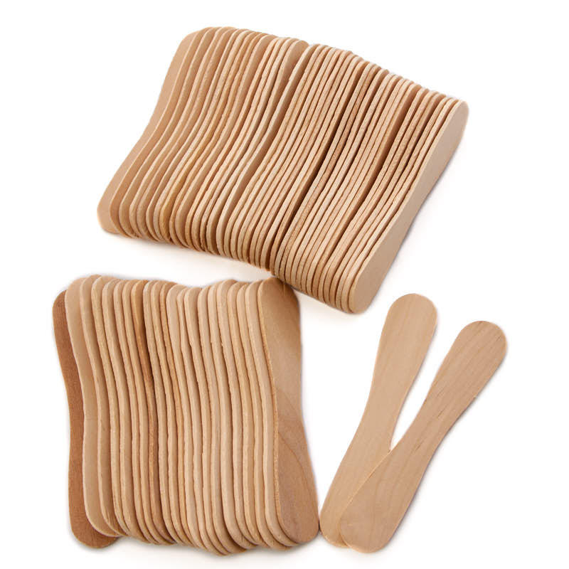 Small unfinished wood craft spoons popsicle sticks and for Wooden craft supplies online