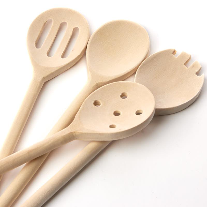 Wood Kitchen Spoons Kitchen Utensils Kitchen And Bath Home Decor