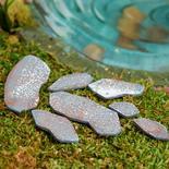 Miniature Wood Stepping Stones