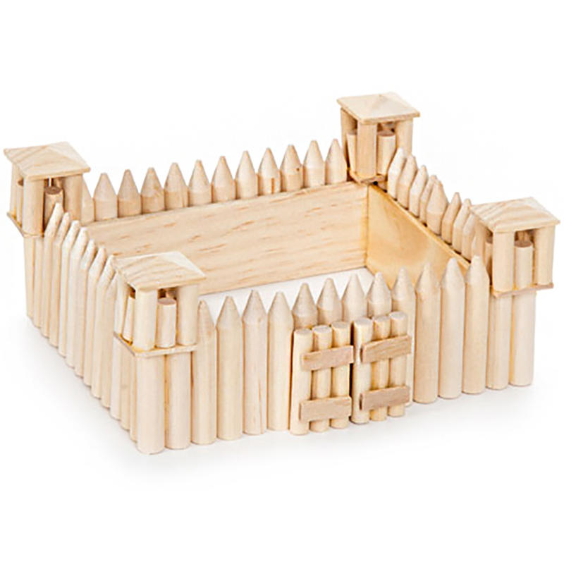 Old west fort wood model kit wood craft kits for Old wooden forts