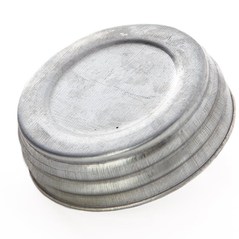 2fda0ab1caa0 Galvanized Small Mouth Canning Jar Lid
