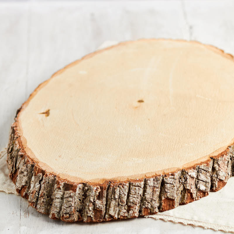 Large oval wood tree trunk slice wooden plaques and for Wood trunk slices