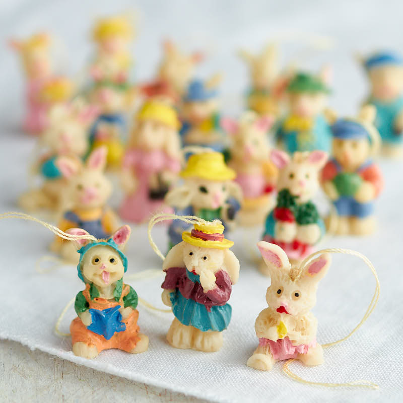 Miniature Easter Bunny Ornaments - Spring and Easter - Holiday Crafts