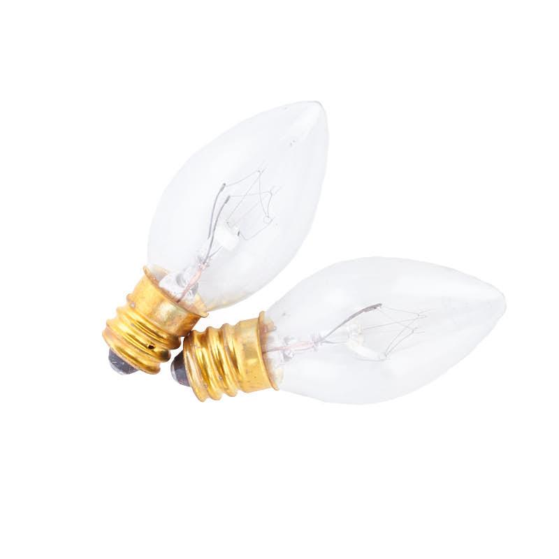 Clear Candelabra Light Bulbs Lights Lamp Kits