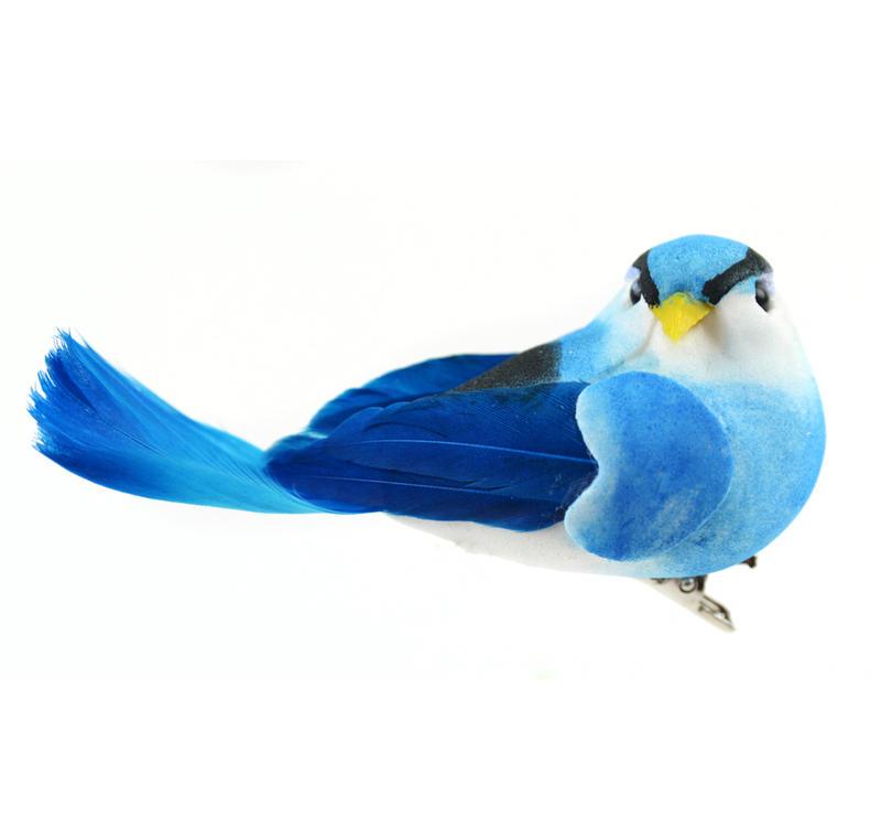Artificial Blue Bird - Birds & Butterflies - Basic Craft Supplies ...