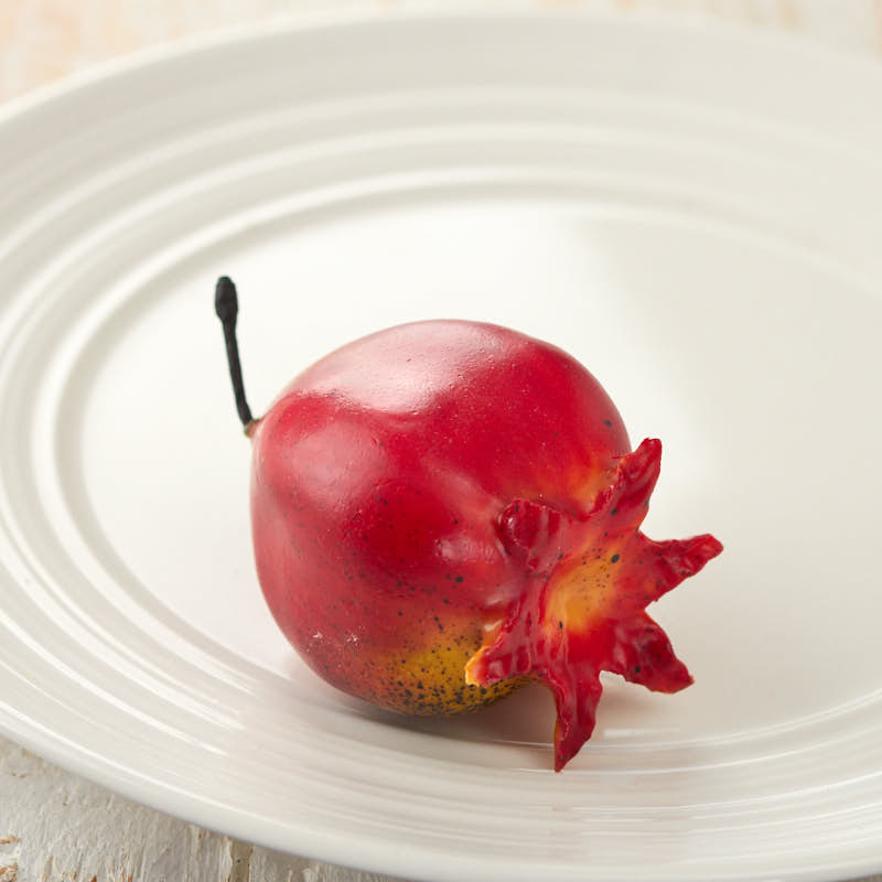 Artificial mini pomegranate on sale home decor for Artificial pomegranate decoration