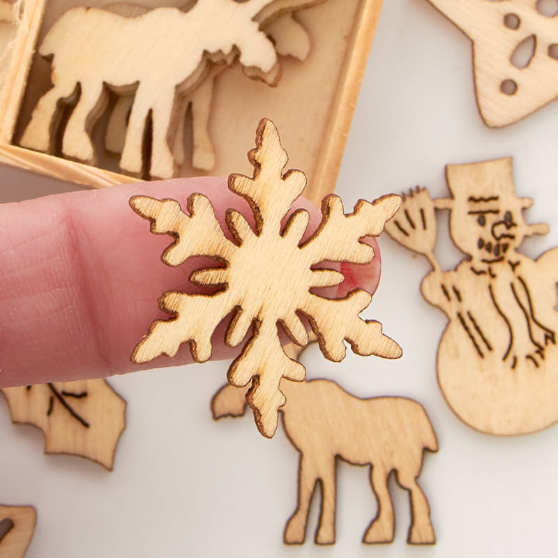 Unfinished Wood Laser Cut Christmas Cutouts Top Sellers