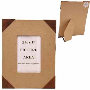 rusty tin and paper mache picture frame picture frames. Black Bedroom Furniture Sets. Home Design Ideas