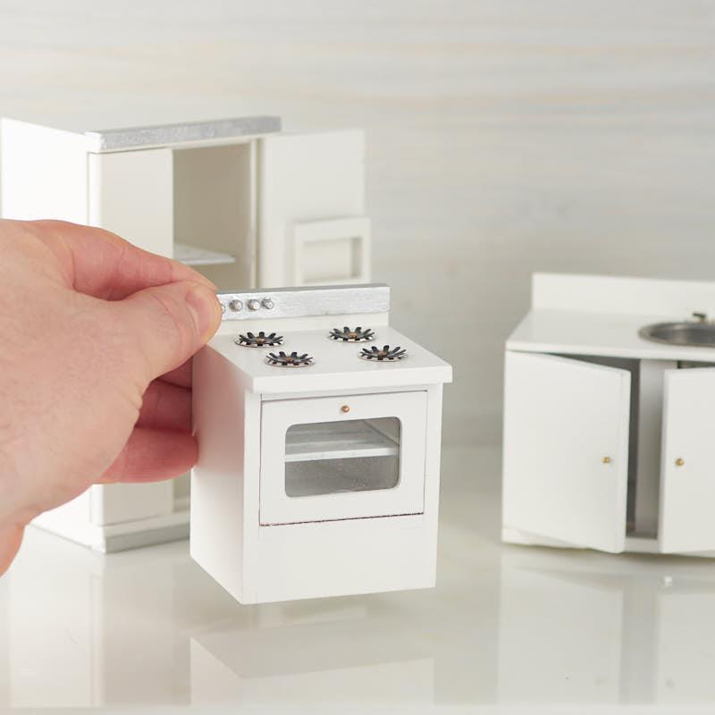 Dollhouse Miniature Kitchen Appliance Set