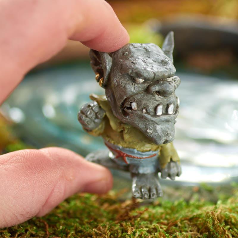 miniature drudge the garden troll fairy garden