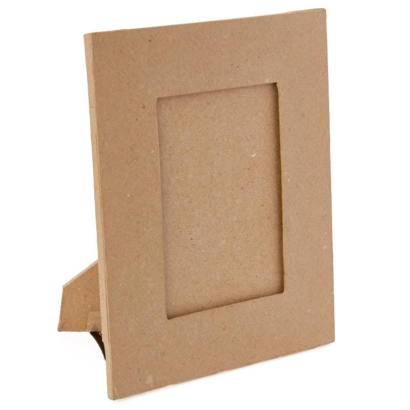 paper mache picture frame paper mache basic craft. Black Bedroom Furniture Sets. Home Design Ideas