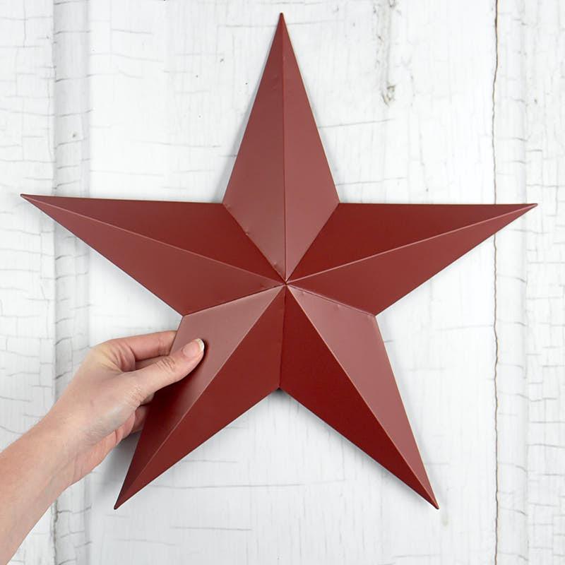 Red Tin Barn Star