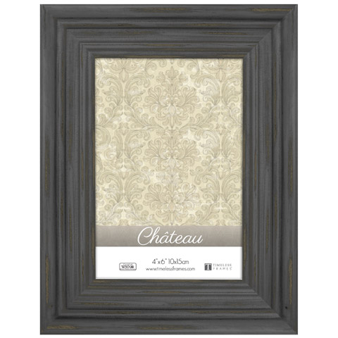 Distressed Black Photo Frame - Signs and Frames - Primitive Decor