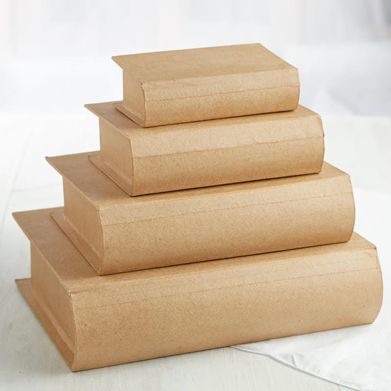 Paper Mache Box Books Crafts