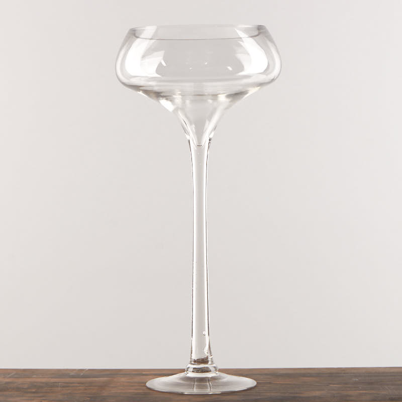 Long Stem Champagne Vase Anniversary 25th And 50th Party
