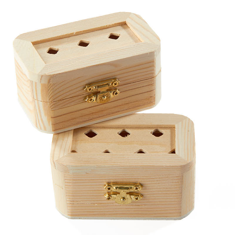 Small unfinished wood chest wood craft kits unfinished for Unfinished wooden boxes for crafts