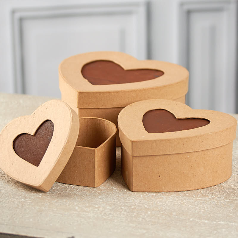 paper mache picture frame heart box set on sale. Black Bedroom Furniture Sets. Home Design Ideas