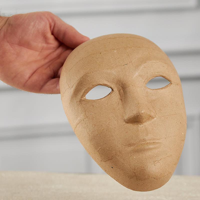Paper mache mask paper mache basic craft supplies craft supplies - Masque papier mache ...