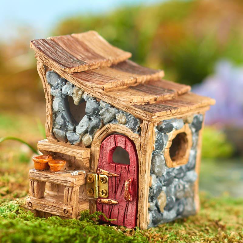 Gnome Garden: Miniature Shingletown Garden Shed