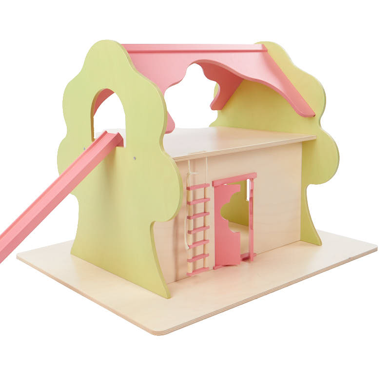 Wooden dollhouse treehouse doll accessories doll for Wooden craft supplies online