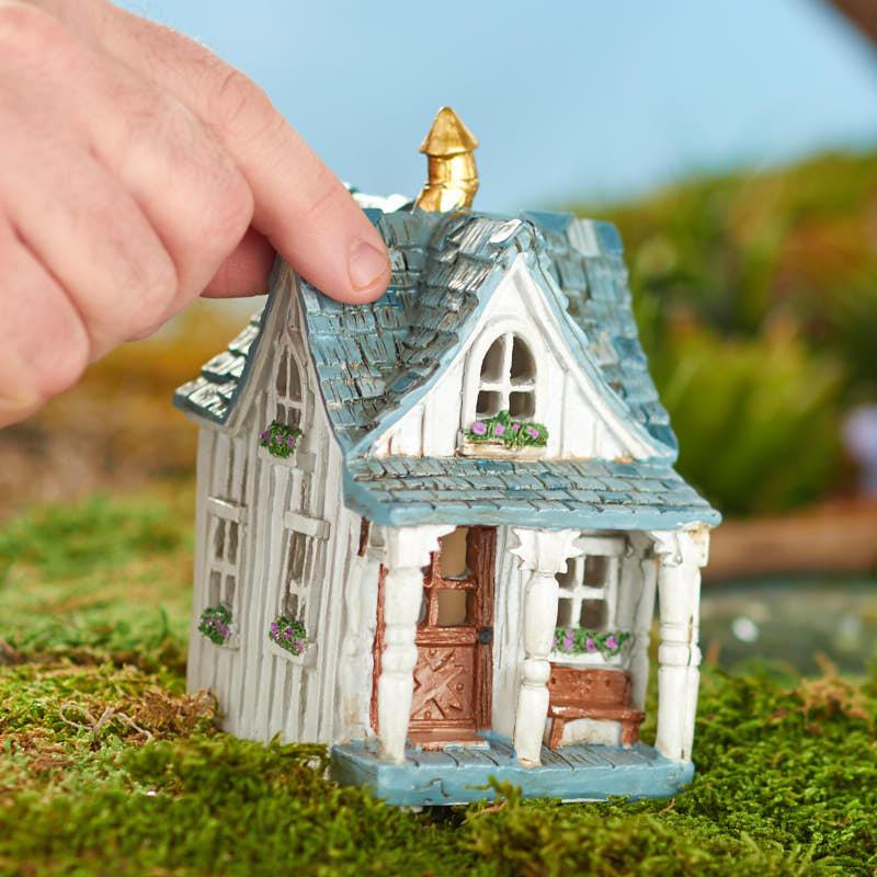 Miniature Fairy Garden Cottage Farm House - Fairy Garden