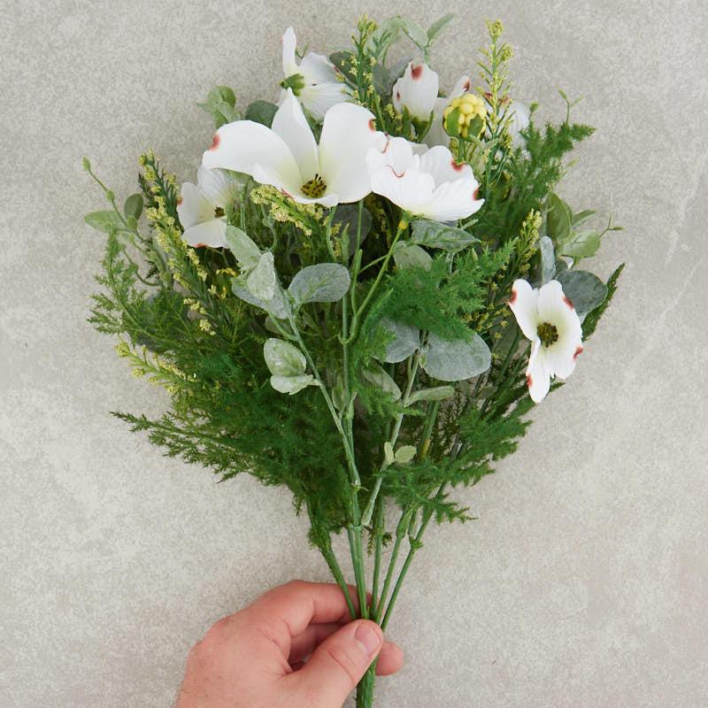 Artificial Dogwood Bush - Bushes and Bouquets - Floral Supplies ...
