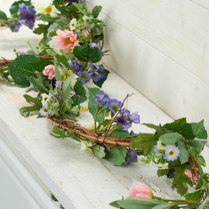 Artificial Wildflower Garland Garlands Floral Supplies