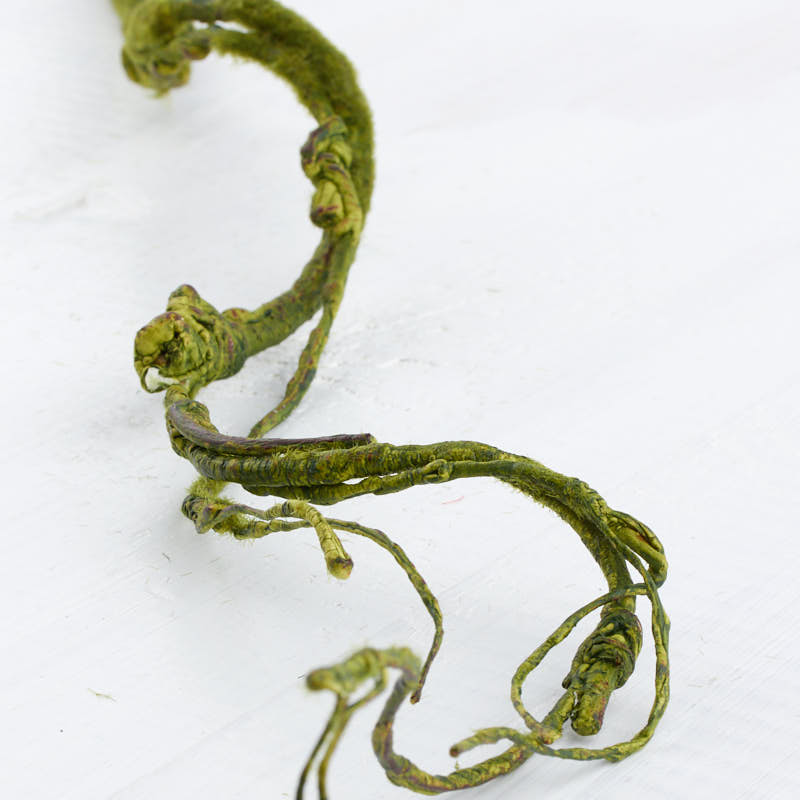 Green Artificial Curly Willow Twig Spray