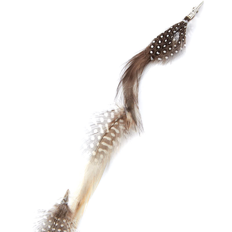 Clip In Feather Hair Extension Feathers Basic Craft Supplies