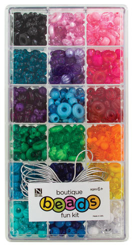 Boutique Assorted Beads Craft Kit Activity Kits Kids