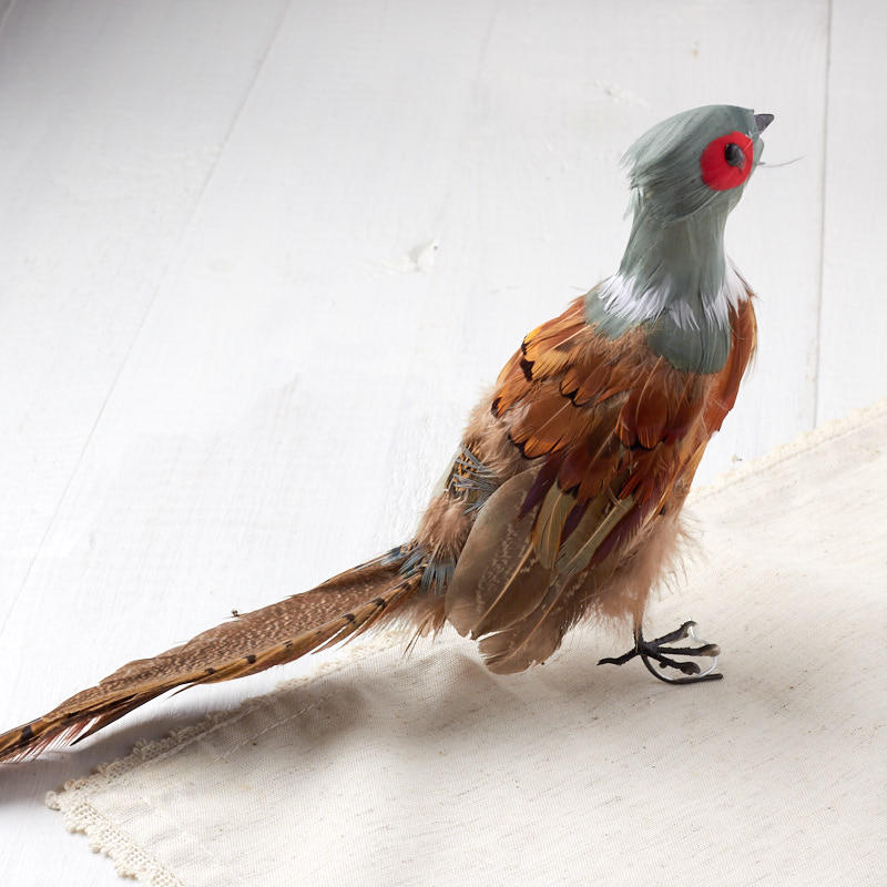 Sitting Artificial Pheasant