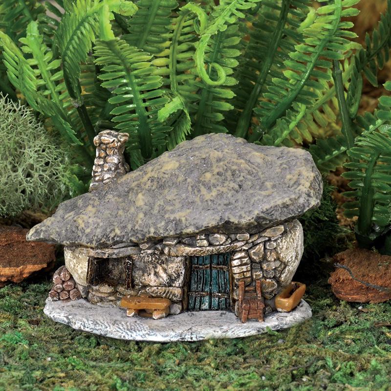 how to make outdoor miniature houses